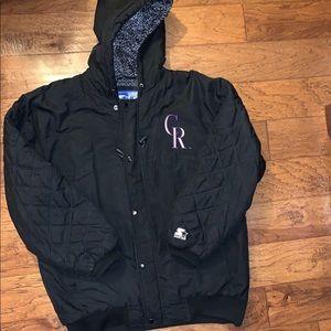 Vintage Colorado Rockies Jacket